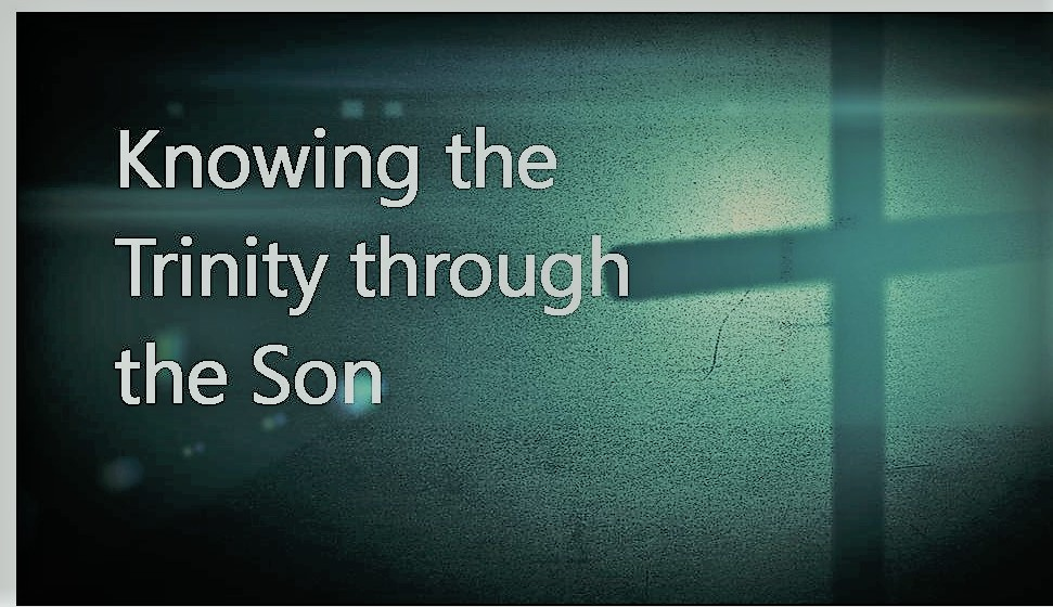 """Knowing the Trinity through the Son"""